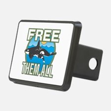 Free Them All(Whales) Hitch Cover