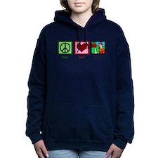 Peace Love Farm Women's Hooded Sweatshirt