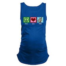 Peace Love Koala Maternity Tank Top