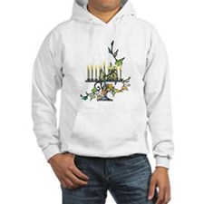 ivy wrapped around Chanuka Menorah.png Hoodie