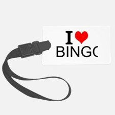 I Love Bingo Luggage Tag