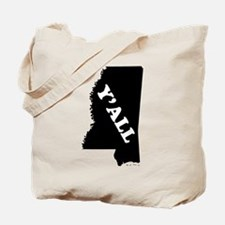 Cute Southern mississippi Tote Bag