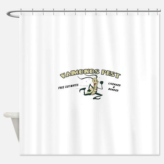 Vamonos Pest Shower Curtain