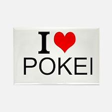 I Love Poker Magnets