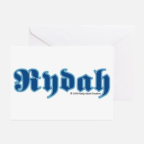 Rydah Greeting Cards (Pk of 10)