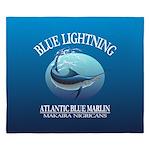 Blue Lightning King Duvet