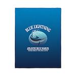 Blue Lightning Twin Duvet