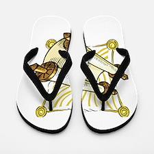 scroll for the sabbath.png Flip Flops