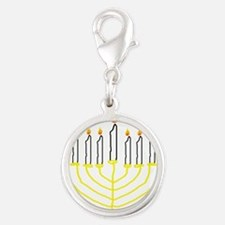 one of a kind hand drawn menorah.png Charms
