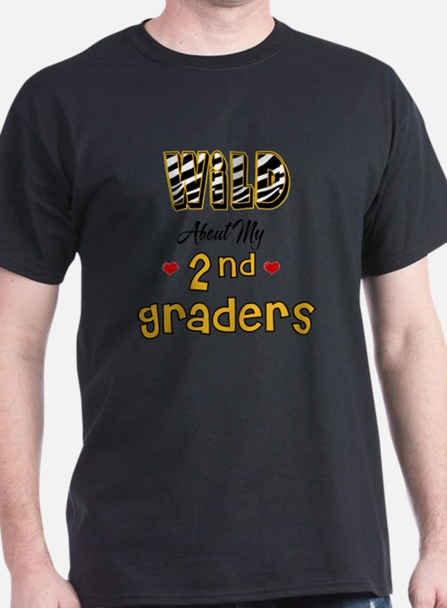 Wild about my  2nd Graders T-Shirt
