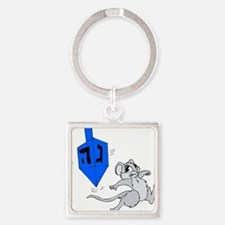 mouse running from spinning dreidel.png Keychains