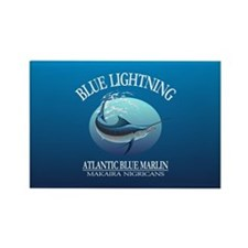 Blue Lightning Magnets