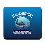 Blue Lightning Mousepad