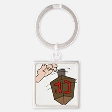 hand spinning the dreidel.png Keychains