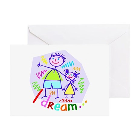 Spending Time with Dad Greeting Cards (Package of