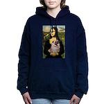 Mona's Fawn Pug (#2) Women's Hooded Sweatshirt
