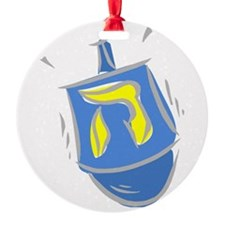 blue dreidel.png Ornament