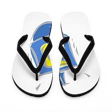blue dreidel.png Flip Flops