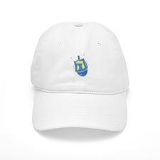 blue dreidel.png Baseball Baseball Cap