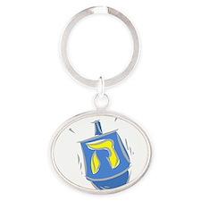 blue dreidel.png Keychains