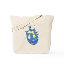 blue dreidel.png Tote Bag
