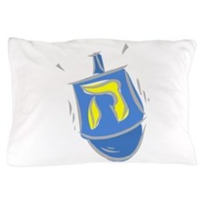 blue dreidel.png Pillow Case