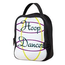 Funny Hoops Neoprene Lunch Bag