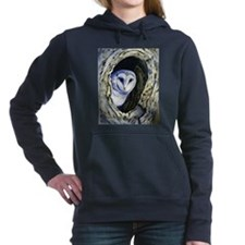 Owl paintings Women's Hooded Sweatshirt