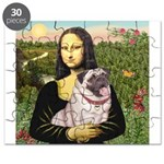 Mona's Fawn Pug (#2) Puzzle