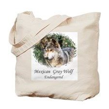 MEXICAN GRAY WOLF - ENDANGERE Tote Bag