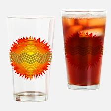 Sun Dog 2 Drinking Glass