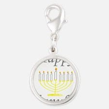 happy Chanukah with Menorah.png Charms