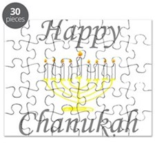 happy Chanukah with Menorah.png Puzzle
