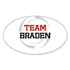 Braden Oval Decal