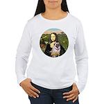 Mona's Fawn Pug (#2) Women's Long Sleeve T-Shirt