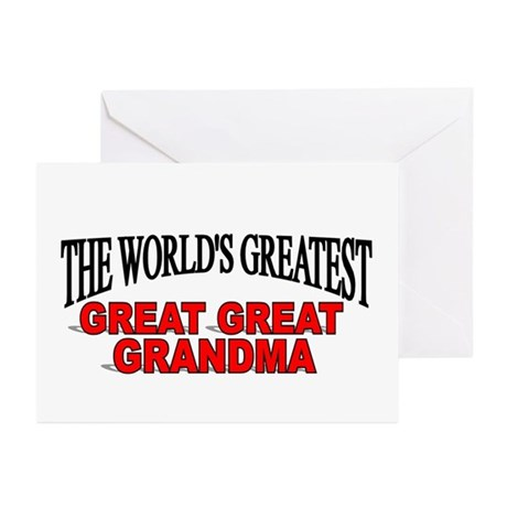 """The World's Greatest Great Great Grandma"" Greetin"