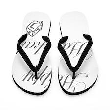 Dreidel Happy Hanukah Flip Flops