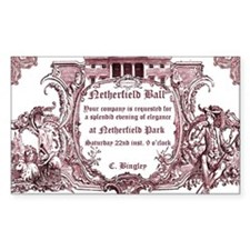 Netherfield Ball Invite Decal