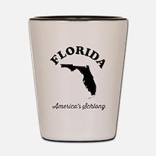 Florida America's Schlong T-shirts Shot Glass