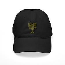 Menorah for Hanukkah.PNG Baseball Hat