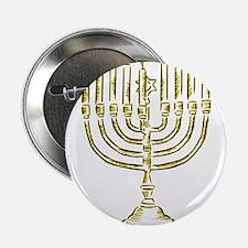 """Menorah for Hanukkah.PNG 2.25"""" Button (10 pack)"""