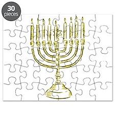 Menorah for Hanukkah.PNG Puzzle