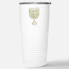 Menorah for Hanukkah.PNG Travel Mug