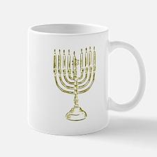 Menorah for Hanukkah.PNG Mugs