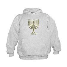 Menorah for Hanukkah.PNG Hoodie