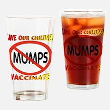 No Mumps Drinking Glass