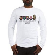 8-Bit GOTG We are Groot Long Sleeve T-Shirt
