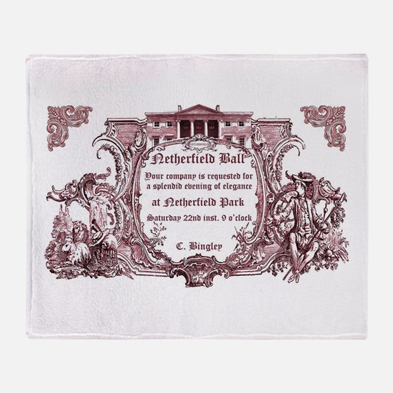 Cute Sense and sensibility Throw Blanket