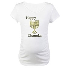 Happy Chanuka with Menorah.png Shirt