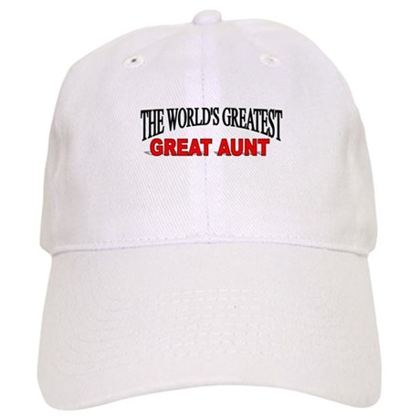 """The World's Greatest Great Aunt"" Cap"